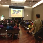 Over 180 students filled the University Center Ballroom for Tuesday nights showing of Nefarious.